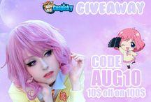 Anime,Cosplay,Giveaway / Hier findest du Sachen zum Thema Anime, Manga, Cosplay usw. :) Ich wünsche dir hier viel Spaß.^^ <3