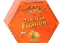 Florida Rum Cakes / Baked in the Caribbean with only the finest ingredients, each rum cake is hand glazed with special 5-year-old, oak barrel aged Tortuga Gold Rum then vacuum sealed to lock in the delicious freshness. The cakes have a shelf life of 9 months, or indefinitely if refrigerated or frozen.