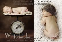 Custom Photo Birth Announcements for Newborns