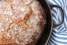 Eltefrie brød - no-knead-bread