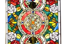 Stained Glass Panels / Stained Glass Window Panels Stained Glass Panels Stained Glass Windows Suncatchers