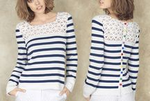 Vêtements femme tricot et crochet