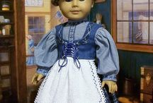 Dolls-American girls doll clothes / I've been making doll clothes since my girls were little. Now getting ideas for the future grandaughters. / by Andrea Adams-Percival