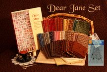 "Dear Jane Quilts and Fabrics / All things ""Dear Jane"""