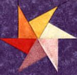 Spinning star quilt