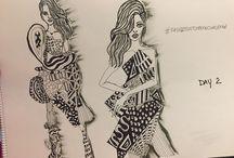 #fashionsketchbookchallenge