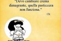 Umorismo di Mafalda