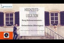 Hochzeits-Location Rundgang mit DJ Martin Meyer / Als Hochzeits-DJ zeige ich Ihnen die besten und schönsten Locations in Hessen & Bayern und weitere. Film & Bilder mit Infos, um sich einen genauen Eindruck der Location zu verschaffen.