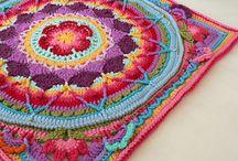Haken mandela patronen / patronen voor mandela dekens/kussens etc