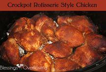 crock pot meals / by Esther Writebol