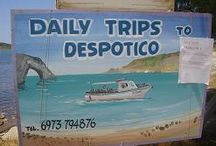 Despotico / Near Antiparos - Cyclades. Uninhabited - ferry trips to private beaches and exploring.