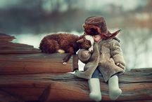 Mensch und Tier Freundschaft