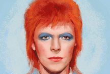 David Bowie's faces
