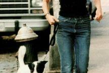 Carolyn and dog