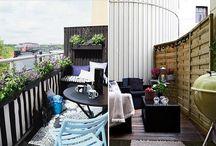 Domowe inspiracje - balkon