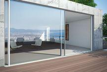 White Aluminium Window doors