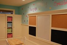 Homeschool room ideas / by Christine Moorefield