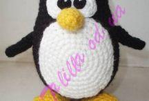 Pingvin horgolás