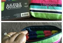 31 Pouches & Pockets #canadianbaglady / Our pouches come in many sizes! www.canadianbaglady.ca