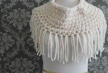 *Crochet cowls shawls and hats *