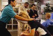 Massaggio in ufficio