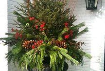 Christmas decor exterior