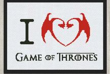 Game Of Thrones Cross Stitch Patterns / Game of Thrones cross stitch patterns are in big demand by many fans and series lovers. Funny and stylish, cute and original our embroidery designs are created for Game of Thrones characters.