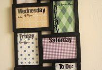 Organization DIY's and ideas