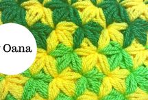 crochet and knitting stitches