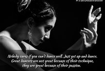 Emotions / Dance is the poetic baring of the soul through motion