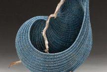 плетение,ваза