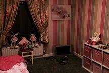 Harlequin paper & curtains / Playroom ideas