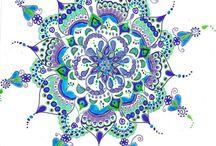 Arabeski,mandale, mozaiki