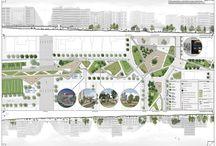 Urbanistyka-place rzuty