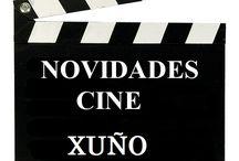 Cine XUÑO 2016 / Novidades CINE na Biblioteca Anxel Casal XUÑO 2016