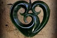 New Zealnd Greenstone Pendants / Hand crafted Jade pendants