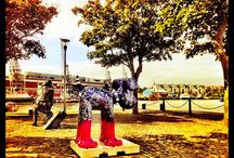 Gromits Unleashed, taken by BAND Bristol / Photos taken by staff at BAND Ltd of all the Bristolian Gromits - Yay Bristol!!