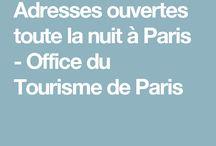 Paris, trucs open by night