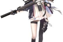 animes e armas