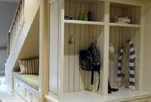 Место под лестницей / Как использовать место под лестницей