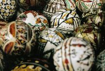 ❤️ ☀️ Pysanky and Easter Eggs☀️❤️ / Pysanky,  Pysanka, Traditional Ukranian, Romanian are made with wax and dyes and have geometric designs. / by Adelina