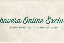 Online Exclusives on www.Cubavera.com / Styles from our Private Collection / by Cubavera
