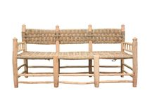 Sillas de Fibras Naturales / Sillas artesanas fabricadas con fibras naturales.