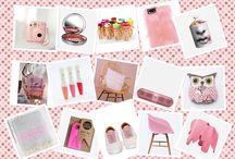 Les idées de cadeaux de Noël de CarèleB / ROSE Girly!