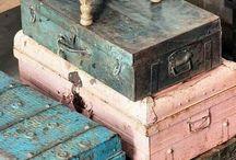 -Vintage trunks-