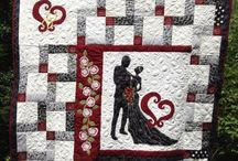 Wedding quilt / Lapptäcken
