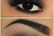 Glitter nero