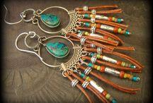 Yucca Bloom Artisan Jewelry / Gypsy, Bohemian, Hippy, South West Inspired Jewelry - #handmade #jewelry #necklaces #bracelets #earrings