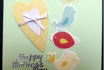 Creations made by Cards n More Mother's Day / The latest handmade Mother's Day cards hot off the press ready for YOUR Mum !