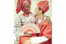 Traditional wedding attires